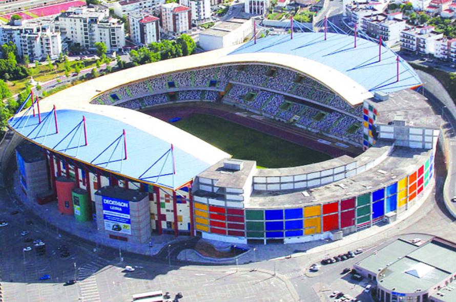 Serviços de Finanças no Topo Norte do Estádio de Leiria
