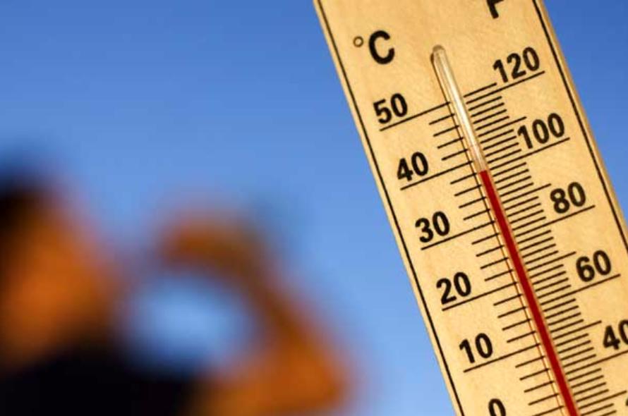 Temperaturas perto dos 40 graus pintam interior do país de amarelo