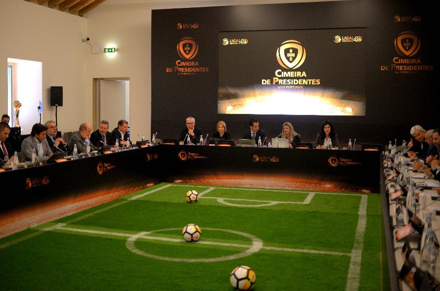 Sporting é o único ausente na cimeira de presidentes da Liga